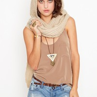 The Hood Scarf in  What's New at Nasty Gal