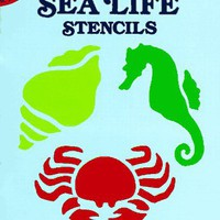 Fun with Sea Life Stencils (Dover Stencils)