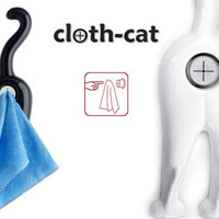 CLOTH-CAT TOWEL HOLDER