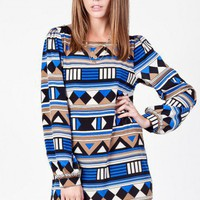 Athens Shift Dress - ShopSosie.com
