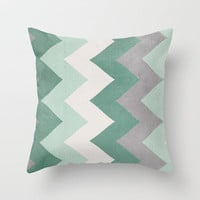 Wintergreen Throw Pillow by CMcDonald | Society6
