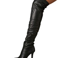 Jimmy Choo OTK Calf Leather Boot