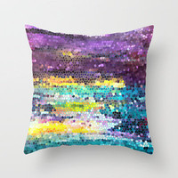 Broken Dawn Throw Pillow by Catherine Holcombe | Society6