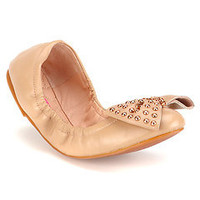 "Betsey Johnson ""Miiliee"" Leather Flat"