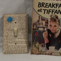 Breakfast at Tiffany's Lightswitch Cover or Outlet Cover