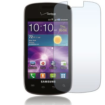 Samsung Illusion i110 - THREE 3 Premium Clear LCD Screen Protector [AccessoryOne Brand]