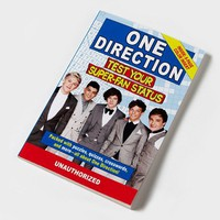 1D Test Your Super-Fan Status Book  | Claire's