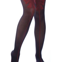 Sheerful Bow Sock | Shop Tights and Socks at MessesOfDresses.com