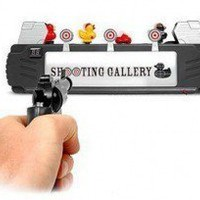 INFMETRY:: Duck Shooting Gallery - Funny - Toys
