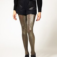 ASOS Metallic Tights at asos.com