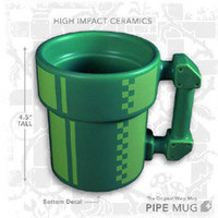 Super Mario Pipe Coffee Mug - HackerThings