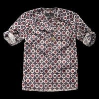 Bohemian printed woven top - Woven tops - Scotch & Soda Online Shop