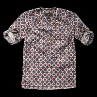 Bohemian printed woven top - Woven tops - Scotch &amp; Soda Online Shop