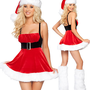 $ 23.59 Sexy Santa Mini Short Dress Christmas Costume  7162