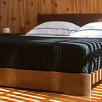 Atlantico By De La Espada 011 Bed in Oak at Velocity Art And Design - Your home for modern furniture and accessories in Seattle and the US.
