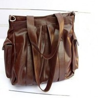 Wholesale Fashionable Casual Style Bag Coffee  http://www.wholesale-dress.net