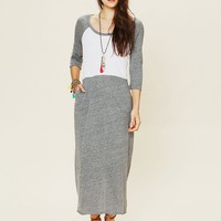 Free People All Night Baseball Maxi
