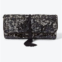 Black Sequin Clutch - White House | Black Market