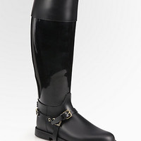 Jimmy Choo - Cheshire Flat Rain Boots