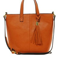 ASOS Mini Tassel Tote Bag at asos.com