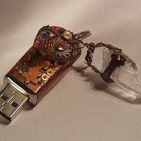 The Copper Sheath 4 g flash drive by ZendulaLand on Etsy