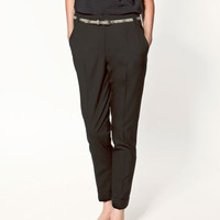 CAPRI TROUSERS - Collection - Trousers - Collection - Woman - ZARA United States