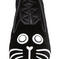 Marc by Marc Jacobs Mia Cat Face Loafers | SHOPBOP