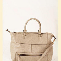 Voyager Tote in Grey