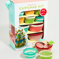 Pretty Cupcake Kit | Cupcake Liners & Recipes | fredflare.com