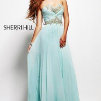 Sherri Hill Dress 3859 at Peaches Boutique