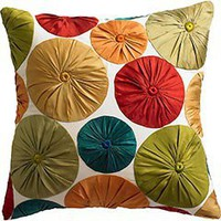 Product Detail - Taffeta Dot Pillow