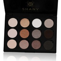 SHANY Everyday Natural Look Eyeshadow Palette (12 Colors Eyeshadow Palette, Large Pan Size, Limited