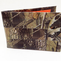 Hunter Camo Woodsman Mossy Oak Pattern Duct Tape Wallet