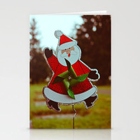 Santa greetings Stationery Cards by Vorona Photography | Society6