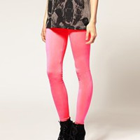 ASOS | Leggings de color fl?or de ASOS en ASOS