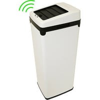 Walmart: iTouchless Fully-Automatic Sensor Touchless 14-Gallon Trash Can, White Steel