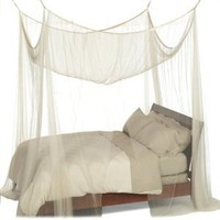 Amazon.com: Heavenly 4-Post Canopy, Ecru: Home &amp; Kitchen
