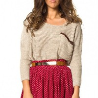 Dreamer skirt in wine  | Show Pony Fashion online shopping