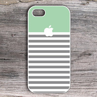 iPhone 5 Case - Green Stripe iPhone 5 Case - Unique iPhone 5 Case