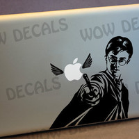 Harry Potter Geek decal for Apple MacBook Pro Air 11 by Wowdecals