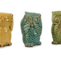 Amazon.com: IMAX Wise Owls, Set of 3: Home & Kitchen
