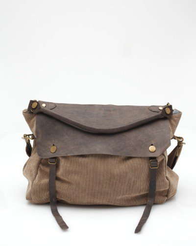 Cord Flap Bag