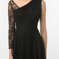 UrbanOutfitters.com &gt; Tripp NYC One-Sleeve Lace Dress
