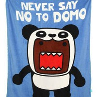Domo Panda Fleece Throw Blanket