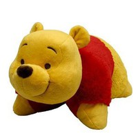 "Pillow Pets Authentic Disney 18"" Winnie the Pooh,  Folding Plush Pillow- Large"