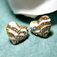 Romeo&#x27;s Heart Earrings | Trinkettes