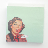 WTF Sticky Note Pad - Unique Vintage - Cocktail, Evening &amp; Pinup Dresses