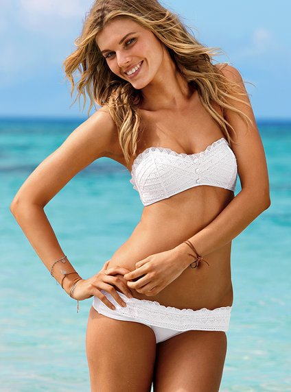 Eyelet Bandeau Top - Beach Sexy?- - Victoria's Secret