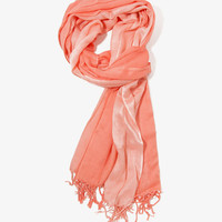 Ombr Sheer-Striped Scarf