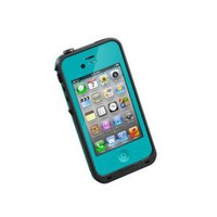 Amazon.com: LifeProof Case for iPhone 4/4S - Retail Packaging - Teal: Cell Phones &amp; Accessories